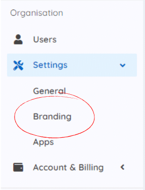Where to find custom branding for eSigning in Doc2 platform